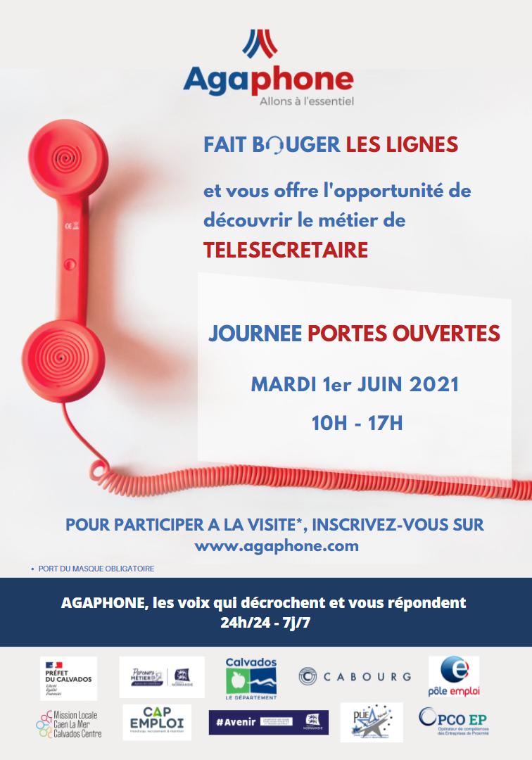 Affiche portes ouvertes 1er Juin 2021 10h - 17h
