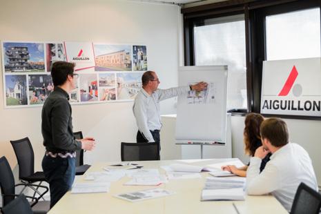 Recrutement: Responsable de Programme Immobilier F/H chez Aiguillon Construction à Lorient