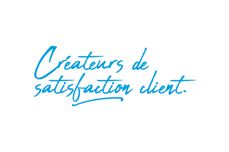 Créateurs de satisfaction client