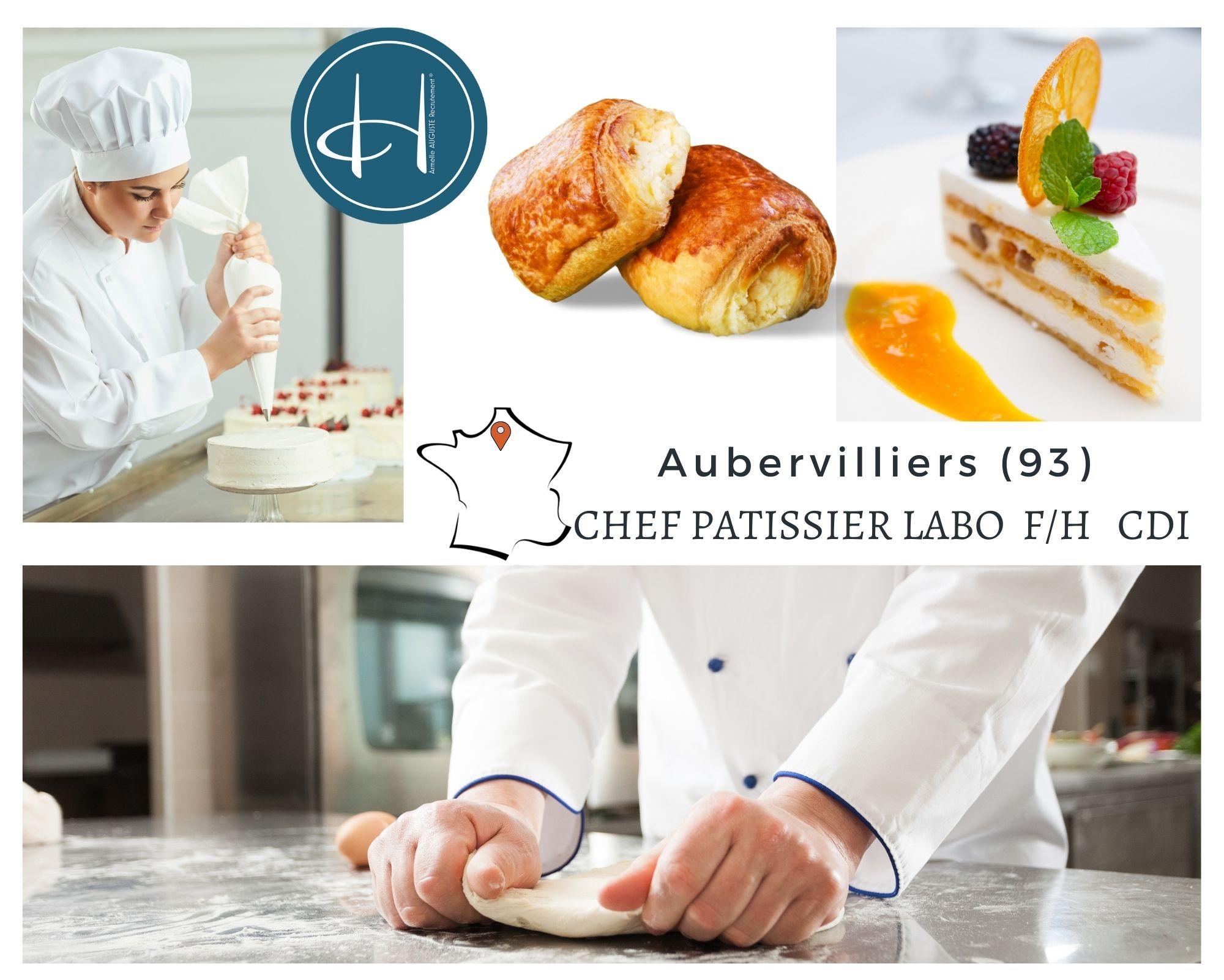 Recrutement: Chef pâtissier F/H chez Armelle AUGUSTE Recrutement® à Aubervilliers