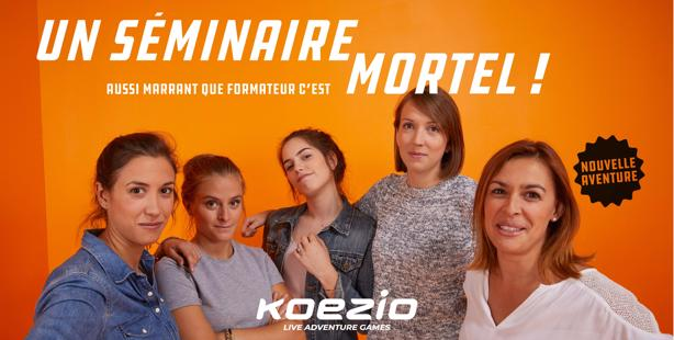 Recrutement: Commercial/Business Dev BtoB F/H chez Koezio à Cergy