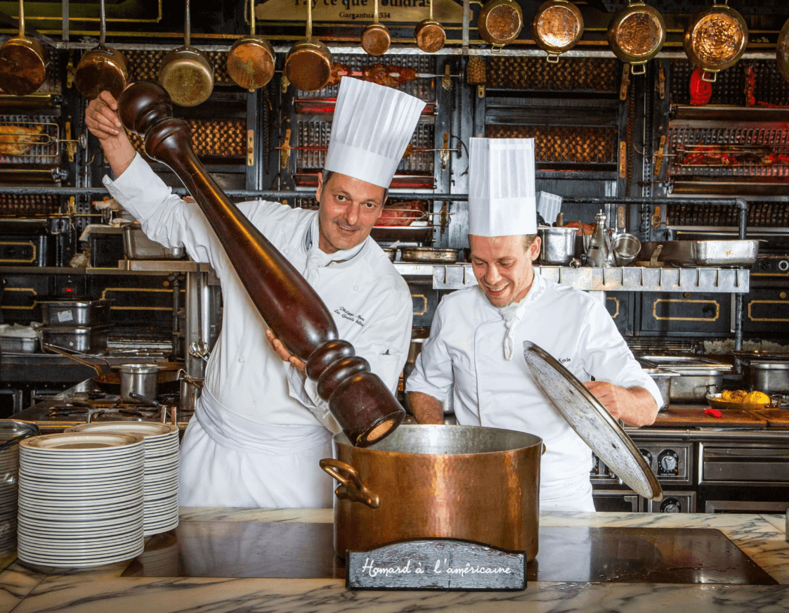 Chef et rotisserie Les gRands Buffets