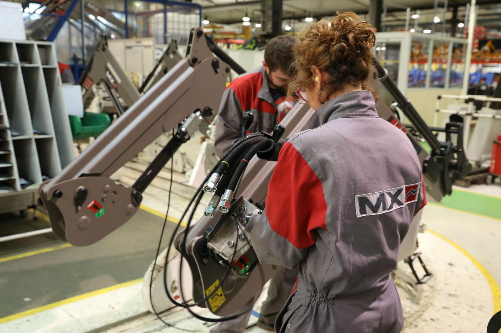 Recrutement: Monteur assembleur mécanique F/H chez MX à Acigné