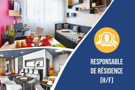 Recrutement: Responsable de Résidence étudiante Junior F/H chez Nemea à Villeurbanne