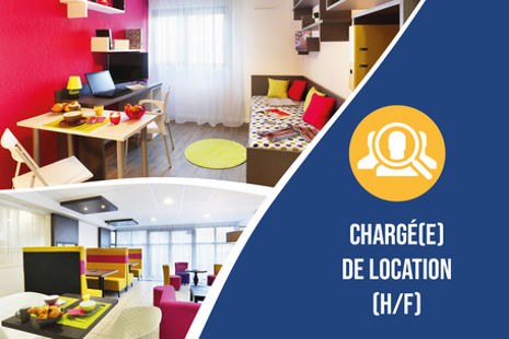 Recrutement: CHARGE(E) DE LOCATION - AIX-EN-PROVENCE F/H chez Nemea Appart'Etud à Aix-en-Provence