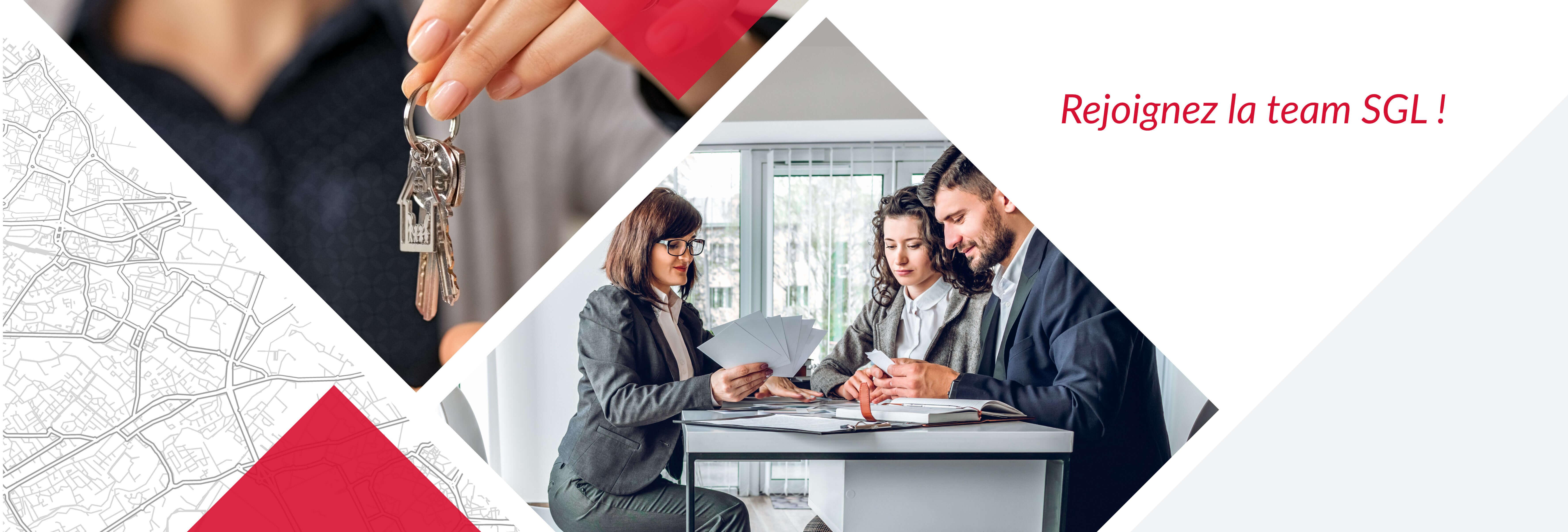 Recrutement: Négociateur Immobilier F/H chez SGL à Paris