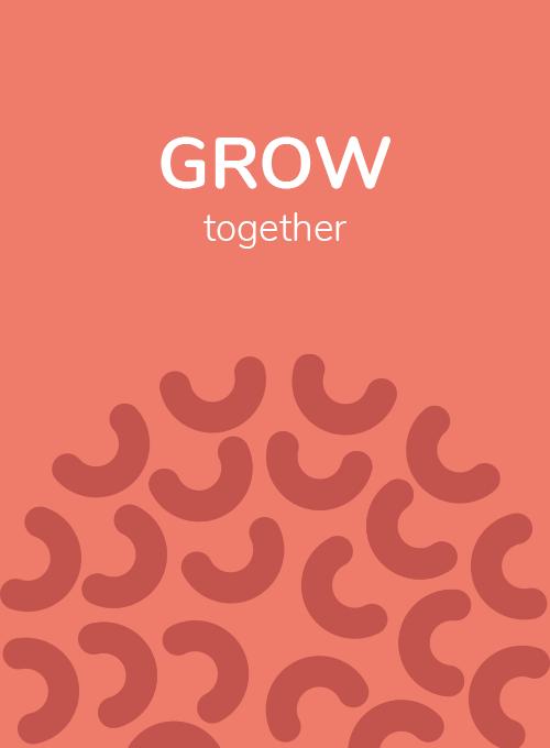 Grow together visual