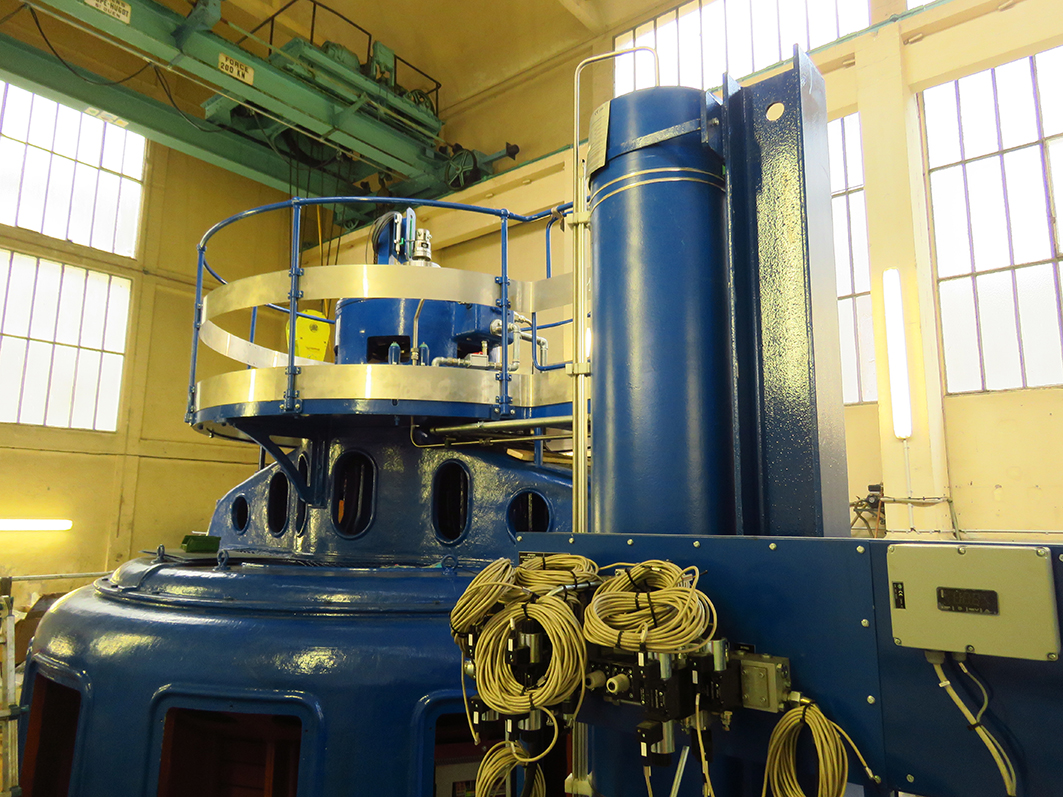 Barrage Rophemel_turbine