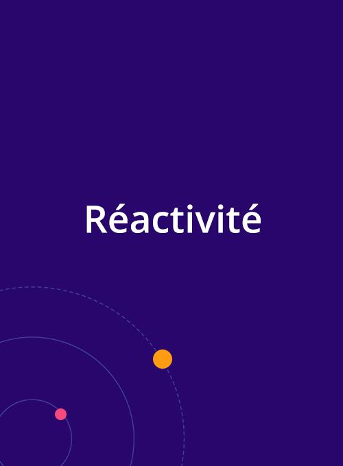 Réactivité