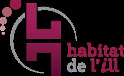Logo HABITAT DE L'ILL