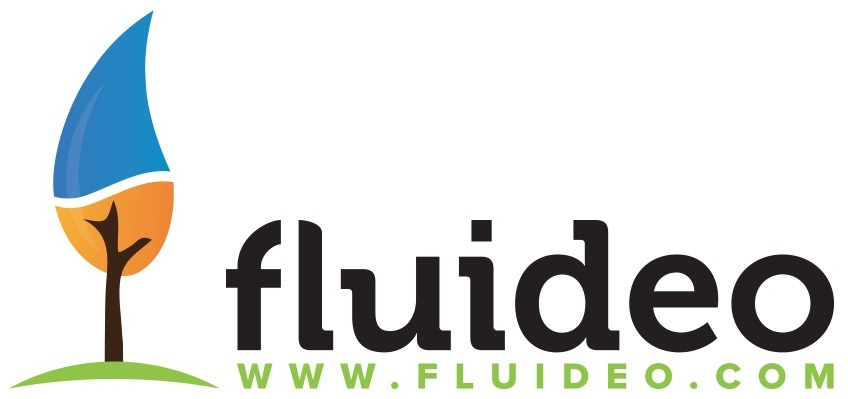 logo de FLUIDEO