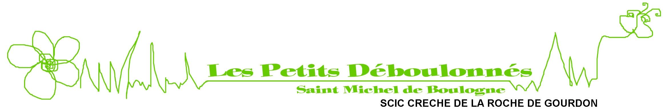 Logo SCIC Crèche de la Roche de Gourdon